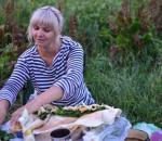 Лаваш с сыром и зеленью для шашлыка от Олега и Маши