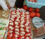Помидоры с чесноком и сыром от Александра Воронцова